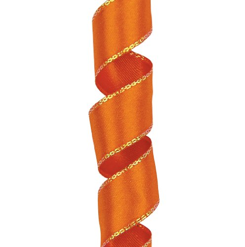 Offray Olivia Craft Ribbon, 5/8-Inch by 25-Yard Spool, Orange (Discontinued by Manufacturer) by Offray Offray Spool