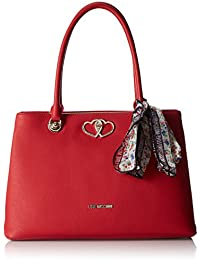 Love Moschino - Moschino, Bolsos totes Mujer, Rot (Red), 13x25x42 cm (B x H T)