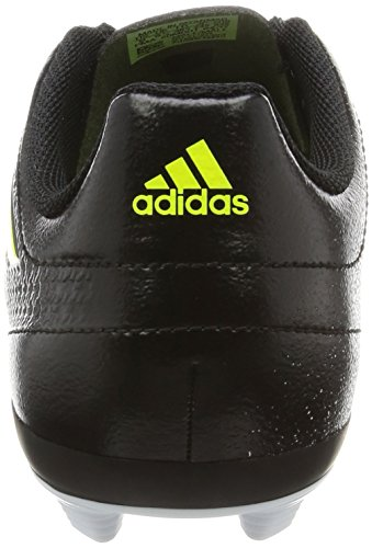 adidas Unisex-Kinder Ace 17.4 Fxg Fußballschuhe Weiß (Footwear White/solar Yellow/core Black)