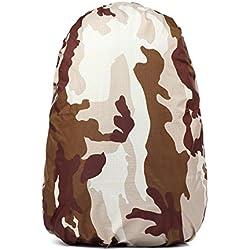 Al aire libre impermeable bolsa Rain Cover 30L–40L mochila de camuflaje funda resistente al agua resistente al polvo carcasa de mochila para Tactical caza Camping pesca senderismo ciclismo bolsa de equipaje impermeable herramienta