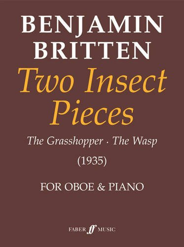 Two Insect Pieces: (Oboe and Piano) (Faber Edition)