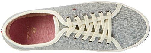 GANT Damen New Haven Sneaker Grau (gray melange)