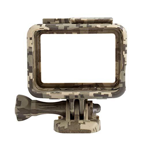 ALIKEEY Zubehör Camouflage Frame Mount Schutzhülle für Gopro Hero 5 6 7 Kamera GY