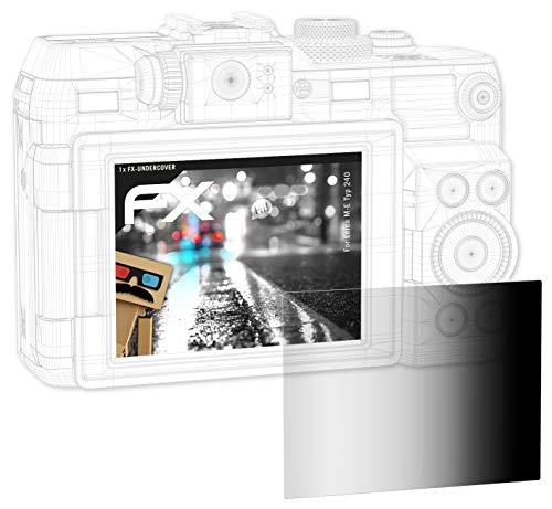 atFoliX Blickschutzfilter für Leica M-E Typ 240 Blickschutzfolie, 4-Wege Sichtschutz FX Schutzfolie