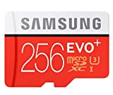 #10: Tfpro Samsung 256 GB Micro SD Card with Adapter 95 MB/s Transfer Speed Class 10
