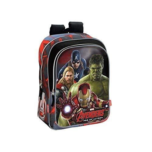 Montichelvo Avengers Mochila Adaptable, 29 x 40 cm, Color Gris