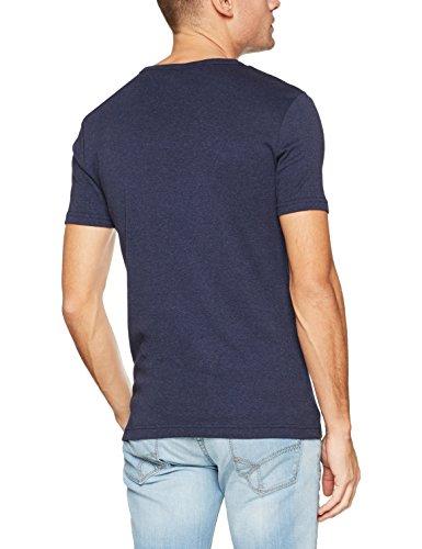 G-STAR RAW Herren T-Shirt Drillon R T S/S Blau (Sartho Blue Htr 6370)