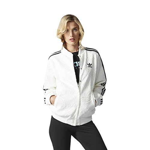 adidas Damen College Jacke, Cwhite, 36
