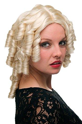 ell-blond Mittelalter Pirat Barock 6006A-613 (Sexy Piraten Haar)