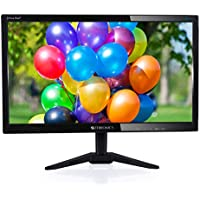 Zebronics 15.6 inch (39.6 cm) LED Backlit Computer Monitor - HD with VGA, HDMI Ports - ZEB-A16HD LED (Black)