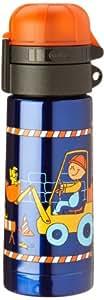 alfi 5327665035  Isolier-Trinkflasche isoBottle Bodo Buddel blau 0,35 l