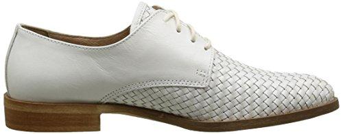 Donna Piu Carole, Chaussures Lacées Femme Blanc (Capra I Bianco)