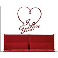 ADESIVI MURALI LOVE WALL STICKERS LOVE STICKER FRASE AMORE DECORAZIONI MURALI PER ARREDARE