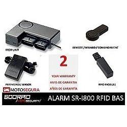 Alarma Scorpio SR-i800 - RFID (CON SENSOR PERIMETRAL/WITH PERIMETRAL SENSOR)