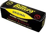 BITTERS - energy chewing gum with caffeine and taurine, box of 5 units of 3-Pack ORIGINAL - BITTERS - Energie Kaugummi mit Koffein und Taurin, Schachtel mit 5 Einheiten 3er-Pack ORIGINAL