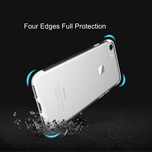 GR iPhone 7 Frosted PC Schutzhülle Back Shell Abdeckung mit TPU Beide Enden ( Color : White ) White