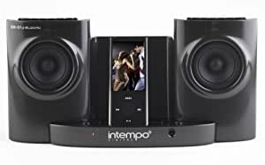 Intempo IDS-01B Compact 2.0 Speaker For iPod, MP3 And Other Audio Devices - Black