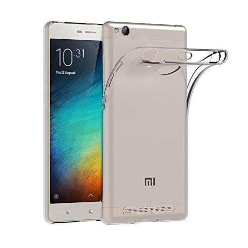AICEK Xiaomi Redmi 3 Pro Hülle, Transparent Silikon Schutzhülle für Xiaomi Redmi 3 Pro/Redmi 3S Case Crystal Clear Durchsichtige TPU Bumper Xiaomi Redmi 3 Pro/Redmi 3S Handyhülle