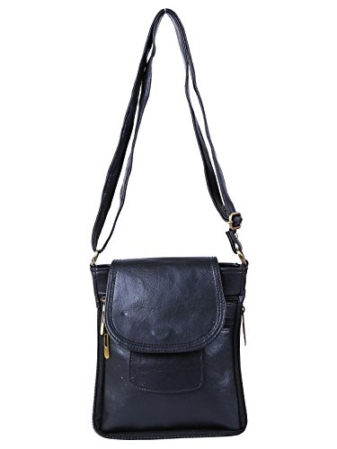 Darash Fashion Stylish Ladies Cross Body Bag Black-Bag-115  available at amazon for Rs.199