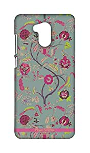 Wires Payal Singhal Chintz Print Back Case for Xiaomi Redmi 4 Prime (Multicolor)