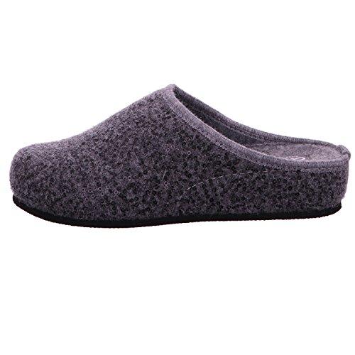 Les femmes estiment pantoufle 37 38 39 40 41 Mules ara gris 15-29957-05 Glitter WOLLFILZ GRAU