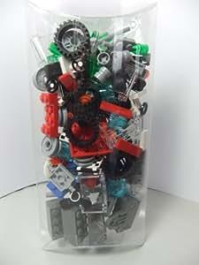Lego: Car parts wheels, windscreens etc plus three grey magnets
