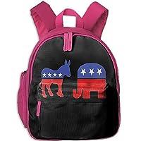 American Elephants and Horses Toddler Kids Pre School Bag Cute 3D Print Children School Backpack