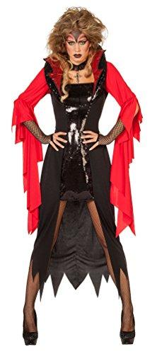 Karneval-Klamotten Teufel Damen-Kostüm Sexy Teufelin Kostüm Damen Halloween Größe 56