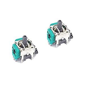 Feicuan 3D Joystick Controller Analog Sensor Rocker Stick Modul Ersatz für Nintendo Switch PRO Controller (Pack of 2)