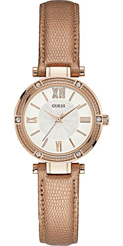 Guess Womens Analogue Leather Watch - W0838L6 image