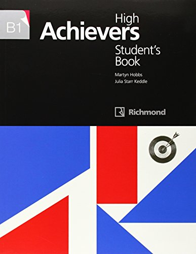 HIGH ACHIEVERS B1 STUDENT'S BOOK - 9788466816724 por Julia Starr Keddle