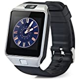 Zakk DZ-09 With Sim Card Slot Smart Watch Brown