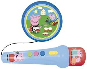 Reig - Peppa Pig micrófono con melodías y aplausos (2321) de Reig