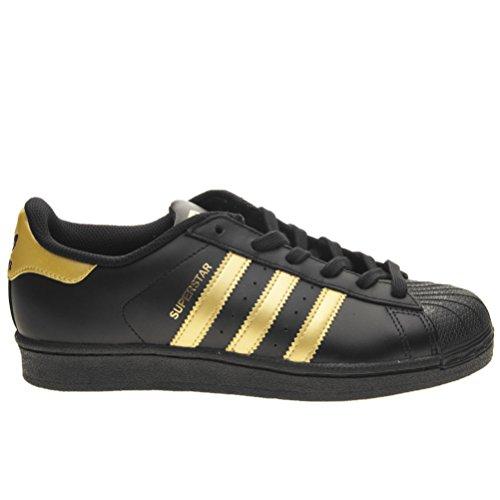 adidas Superstar Foundation J W Scarpa black/gold