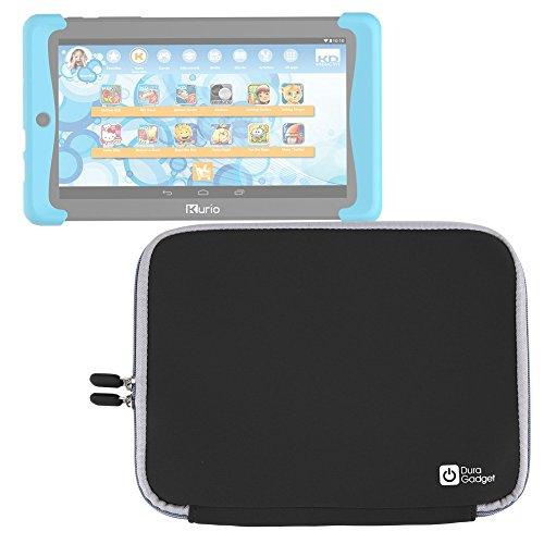 DURAGADGET Funda Negra De Neopreno Para Cefatronic Tablet Clan Pro/Kurio Tab 2 | Resistente Al Agua - Suave Al Tacto