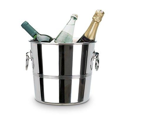 supreminox Luxe Design 18/10Edelstahl-Weinkühler, 24cm, silber