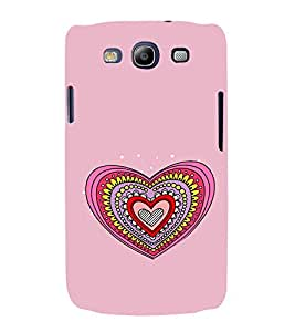 Hearts Pattern Hard Polycarbonate Designer Back Case Cover for Samsung Galaxy S3 Neo i9300i :: Samsung I9300I Galaxy S3 Neo :: Samsung Galaxy S III Neo+ I9300I :: Samaung Galaxy S3 Neo Plus