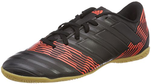 adidas Herren NEMEZIZ Tango 17.4 in Fußballschuhe, Mehrfarbig (Cblack/Cblack/Solred Cp9085), 43 1/3 EU