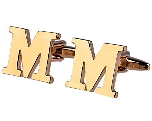 Beglie Gemelos Hombre aleación Alfabeto Letras M