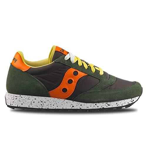 Saucony Jazz 414 Green/orange Scarpe Sneaker Uomo 2044-414 -