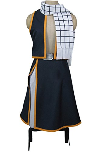 Natsu Tail Fairy Kostüm - Fairy Tail Natsu Dragneel Cosplay Kostüm XL