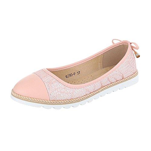 Ital-Design - Sneaker Donna Rosa 6290-P