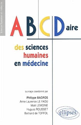 ABCDaire des sciences humaines en mdecine