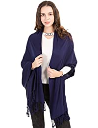 World of Shawls Ultra Smooth Cashmere Feel Soft Pashmina Style Wrap Scarf
