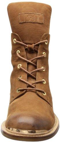 P1 Haidhausen Damen Combat Boots Braun (Camel)