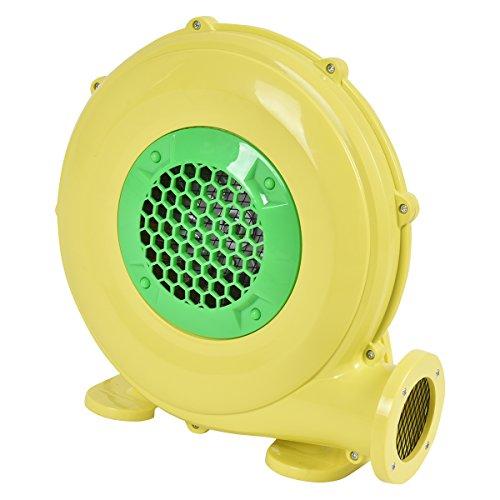 COSTWAY Gebläse Luftgebläse Luftpumpe Ventilator Windmaschine Lüfter elektrisch für aufblasbare Spielzeuge (480W)