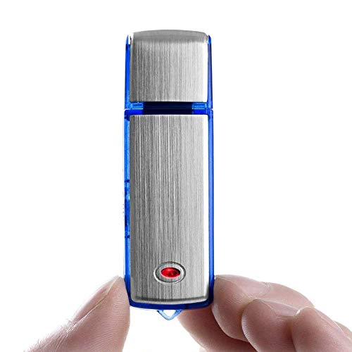 ENEM Spy Hidden Mini Digital Voice Audio Recorder Device | Small Size Mini | Portable | in Built Microphone mic | Dictaphone | Without Light | 4GB