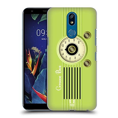 Head Case Designs Groove Box Vintage Radio Telefon Harte Rueckseiten Huelle kompatibel mit LG K40 / K12 Plus -