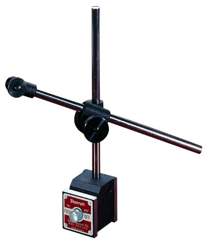 Starrett 657 Serie Magnetfuß und Pfosten Montageset komplett mit Anzeige, Magnetic Base, Upright Post, Swivel Post Snug, Gage Holding Rod, 1 Magnetic Swivel