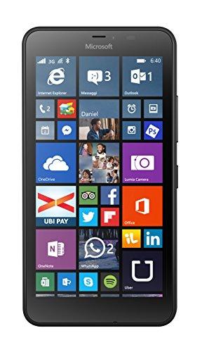 Microsoft Lumia 640 XL 8GB Negro - Smartphone (SIM única, Windows Phone, MicroSIM, GSM, WCDMA, Micro-USB B)